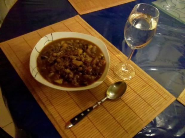 Eintopf: Bunter Bohneneintopf mit Gemüse - Rezept - Bild Nr. 6