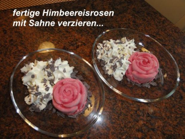 Eis:   JOGHURTFRUCHTEIS - HIMBEERE - Rezept - Bild Nr. 4