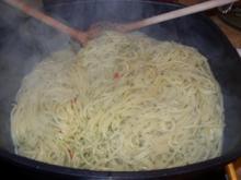 C1: Spaghetti Aglio Olio - Rezept