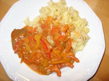 D: Paprikaschnitzel - Rezept