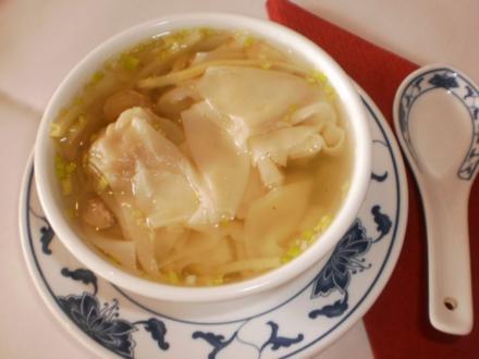 Klare Wan-Tan-Suppe - Rezept