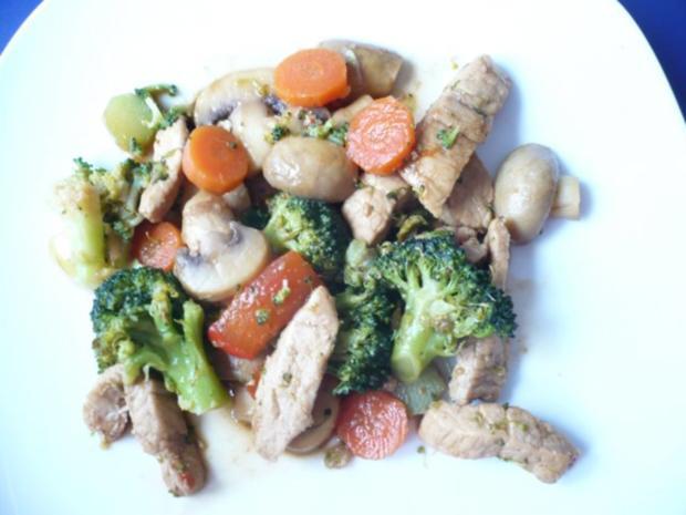 rezept wok mit schweinefleisch gesundes essen und rezepte foto blog. Black Bedroom Furniture Sets. Home Design Ideas