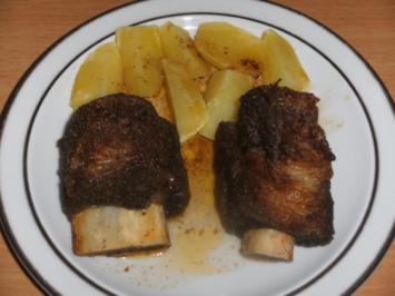 Fleisch: Rinder-Spareribs, V.1 - Rezept
