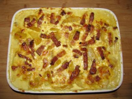 Gemüse: Kohlrabi-Kartoffel-Auflauf - Rezept