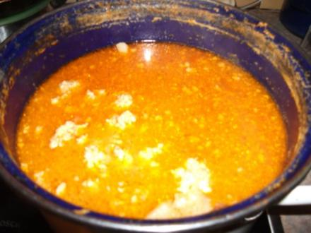 Fleischklösschensuppe (sauere Suppe) - Rezept