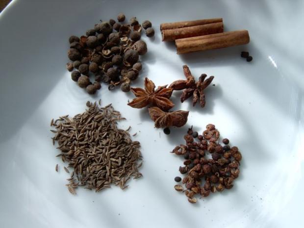Asiatische Fünf-Gewürz Mischung - Rezept