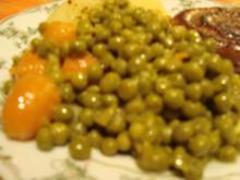 Erbsen und Möhren - Rezept