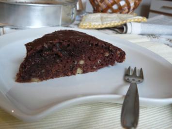 Locker luftiger Schokoladenkuchen mecklenburger Art - Rezept