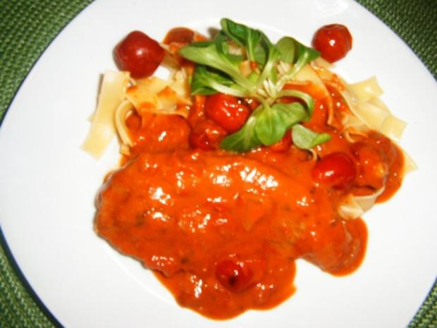 Tomatenschnitzel - Rezept