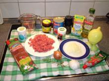Hackfleisch - Tomatensauce - Rezept