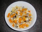 Obst-Salat im Januar ohne Banane - Rezept