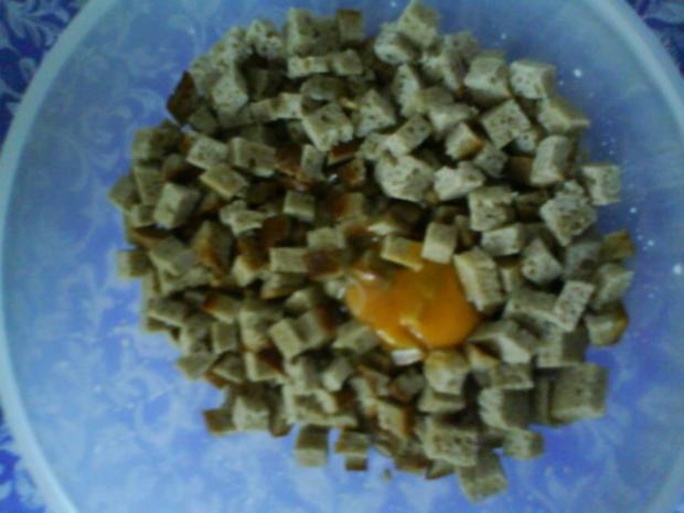 Gemüsiges Geschnetzeltes von Schwein und Rind mit in Nußbutter geschwenkten Kräuterknödeln - Rezept - Bild Nr. 10