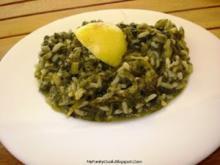 Spinako- Rizo ( Spinat Reis ) - Rezept