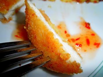 Putenschnitzel mit Parmesan-Kruste - Rezept