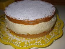 Pfirsich-Melba-Quark-Torte - Rezept