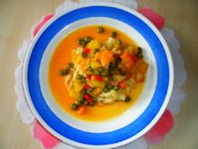 Blumenkohl-Curry mit fruchtiger Note; feurig/scharf - Rezept
