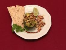 Babyananas gefüllt mit Mangosahne und weißer Schokolade (Heydi Nunez Gomez) - Rezept