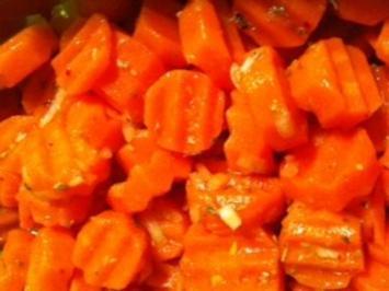 marinierte Karotten - Rezept
