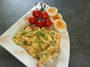 Curry- Geflügelsalat, fruchtig und leicht - Rezept