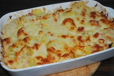 Rezept: Blumenkohl-Kartoffel-Auflauf