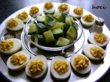 Eier mit cremiger Füllung - Rezept