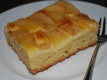 Apfel-Quark-Kuchen vom Blech - Rezept