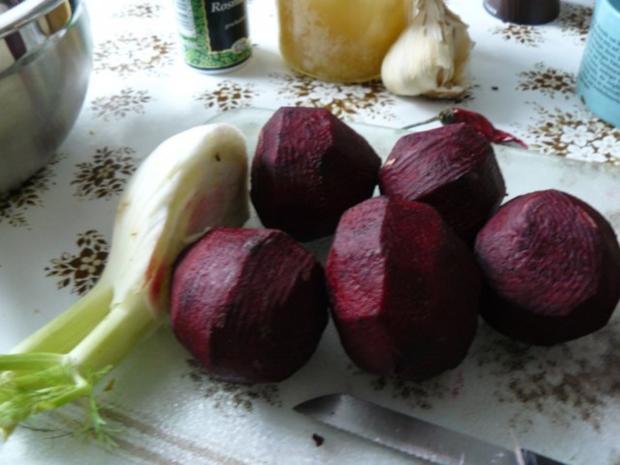 Gebratene Rote Beete mit Fenchel - Rezept - Bild Nr. 3