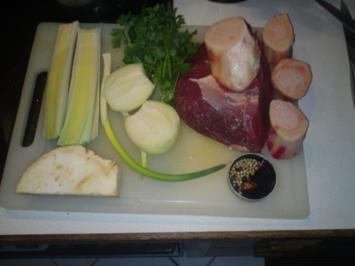 Rindfleischsuppe - Rezept