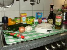 Gemüse Reis mit Zucchini und Paprika - Rezept