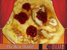 Pfannkuchen mit Camenbert - Rezept