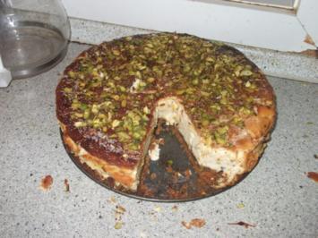 Pistazien Käsekuchen - Rezept