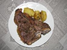 Fleisch: T-Bone-Steak - Rezept