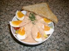 Salat-Mix mit Eiern>> - Rezept