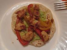 Fajitas / Tortillas - Rezept