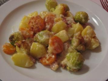 Gemüse überbacken - Rezept