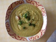 Grüne Kartoffelsuppe - Rezept