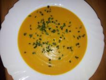 Karotten-Apfel-Ingwersuppe - Rezept