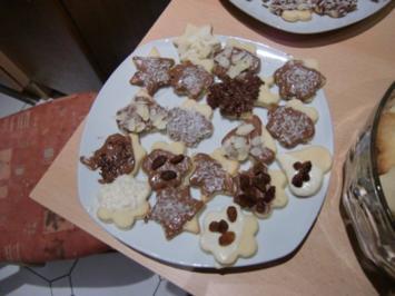 Rezept: Weihnachtsplätzchen gaaaanz leicht und lecker