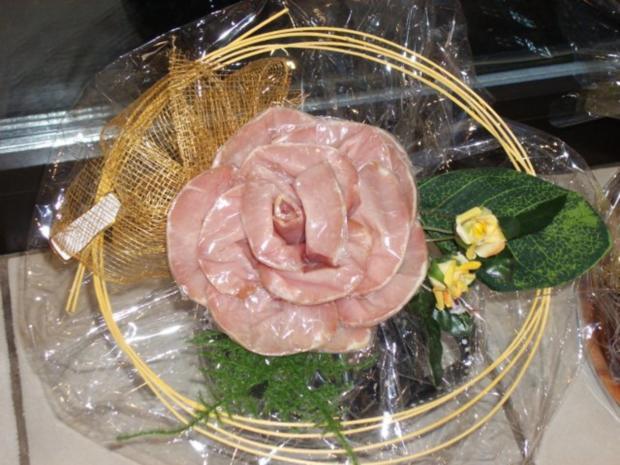 Lachsschinken - Rose - Rezept