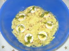 Oma´s Kartoffelsalat mit Speck und Majo - Rezept
