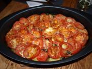 Gemüseauflauf mit Cima di Rapa         (Casseruola di verdure con cima di rapa e pomodori) - Rezept