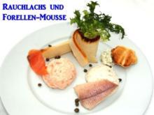 Rauchlachs und Forellen-Mousse - Rezept