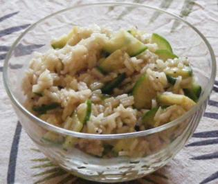 Rezept: Reis-Gurken-Salat