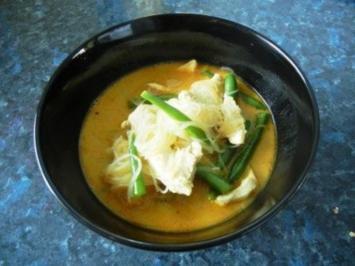 Scharfe Thai Chicken Soup - Rezept