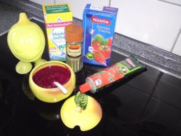 Tomaten - Himmbeersauce - Rezept