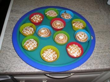 Rezept: Apfelmus-Muffins