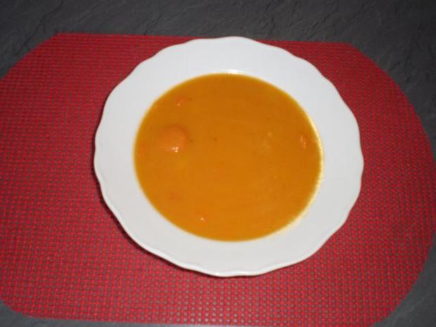 Karottensuppe Mit Karotten Und Kartoffeln Rezept Mit Bild Kochbarde