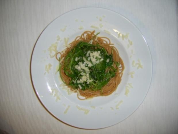 Spaghetti con Rucola - Rezept