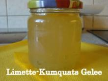 Limetten-Kumquat Gelee - Rezept