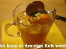 Teepunsch mit Kumquats - Rezept